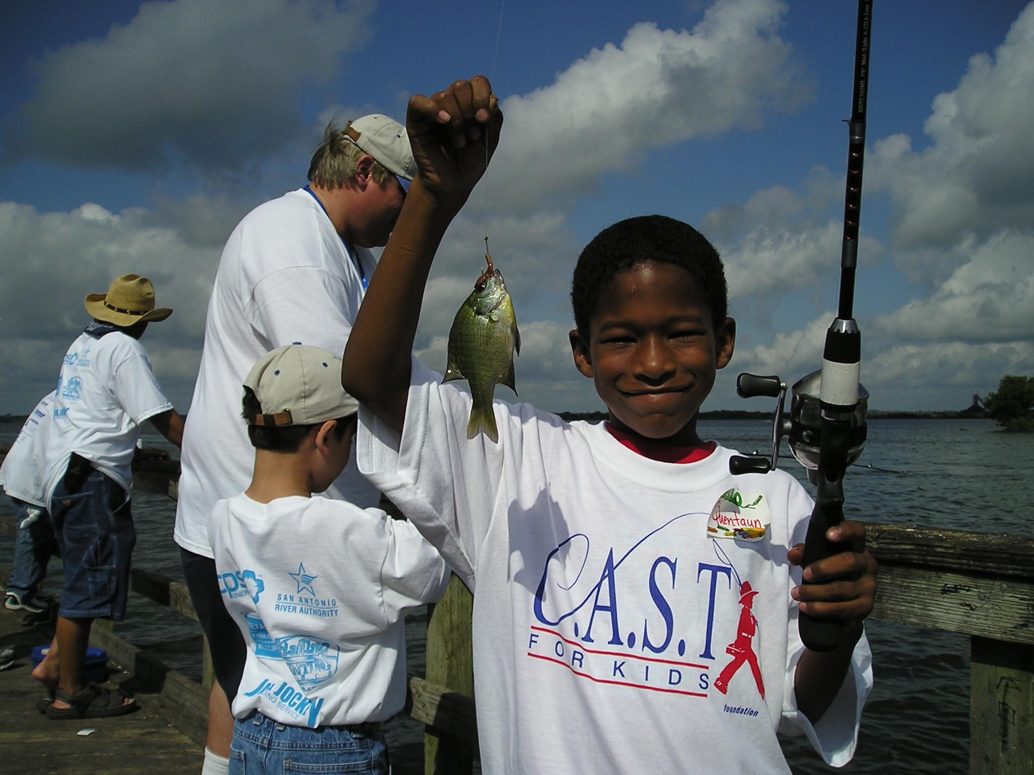 Calaveras Lake C.A.S.T. for Kids Presented By Texas Farm Bureau Insurance