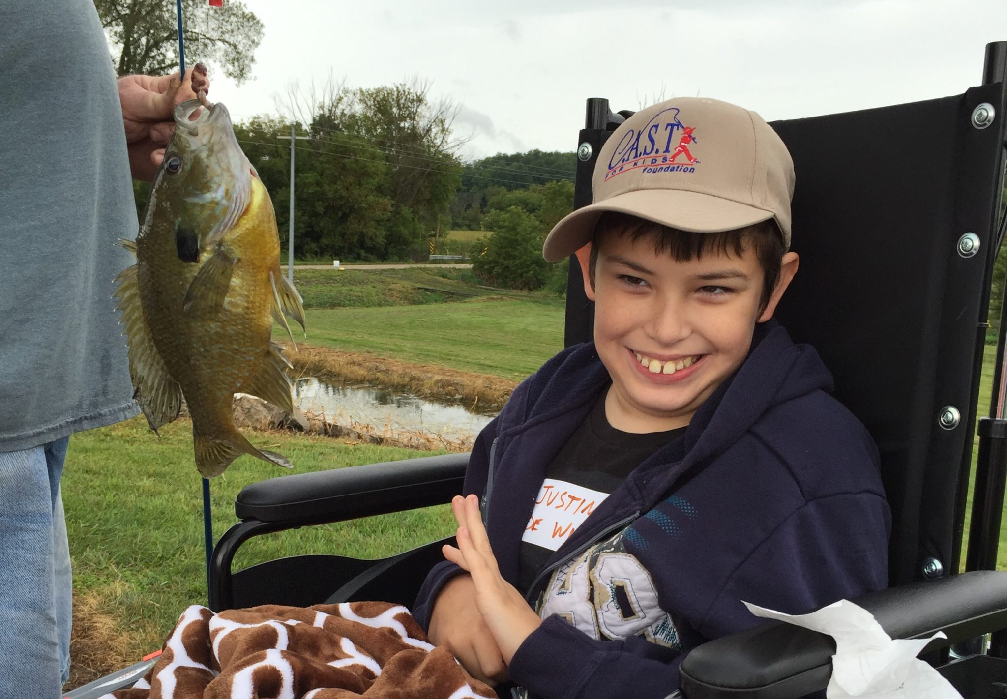 C.A.S.T. for Kids – Rock County Pond (WI)