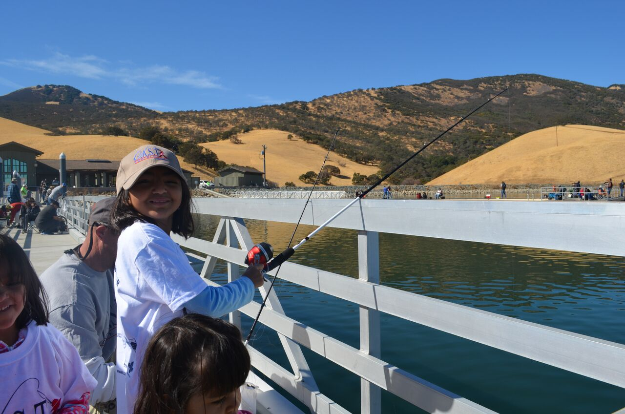 C.A.S.T. for Kids – Los Vaqueros Reservoir (CA)