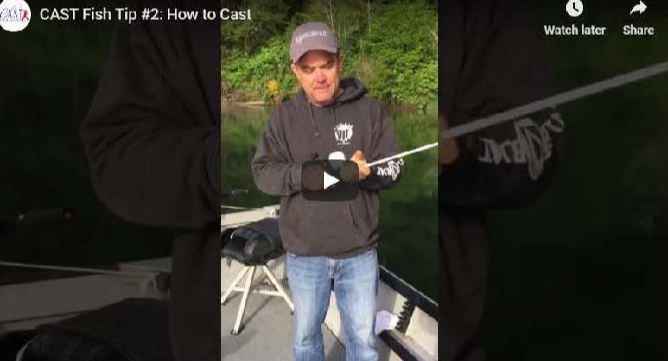 C.A.S.T. for Kids Fish Tip #2: How to Cast