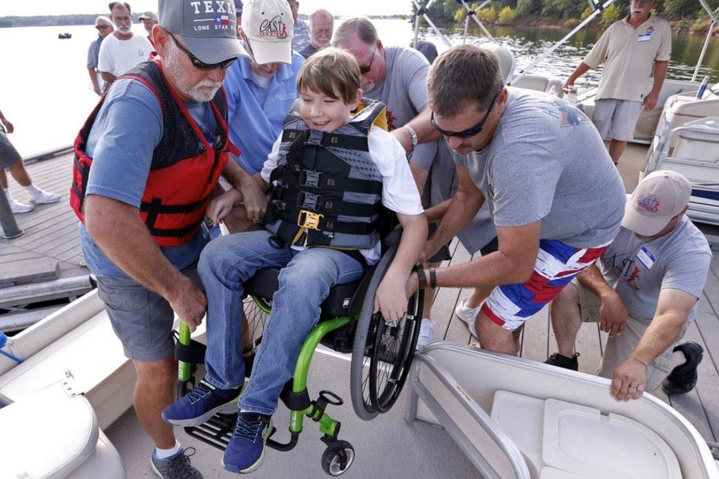C.A.S.T. for Kids – Belton Lake at Frank's Marina Presented By Texas Farm Bureau Insurance