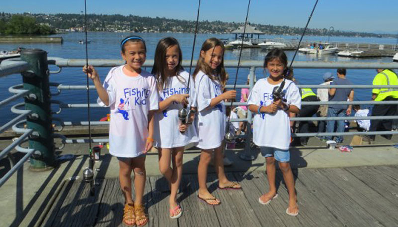 Fishing Kids – Lake Sammamish State Park