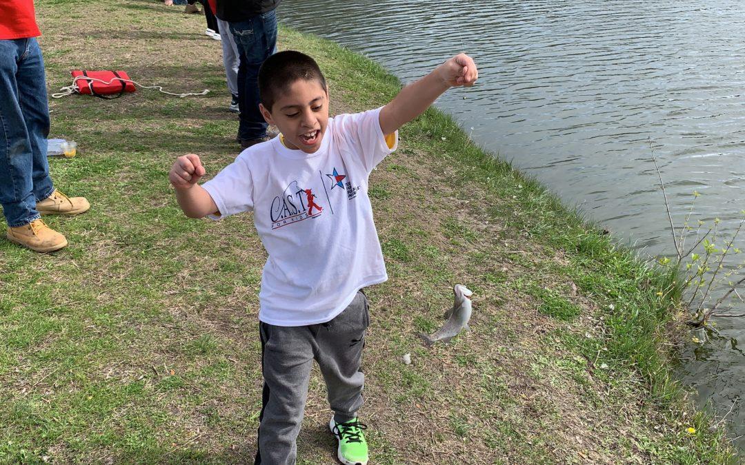 Miller Park Pond C.A.S.T. for Kids