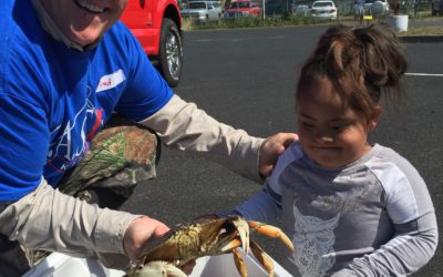 Fishing and Crabbing and Fun! Oh My!