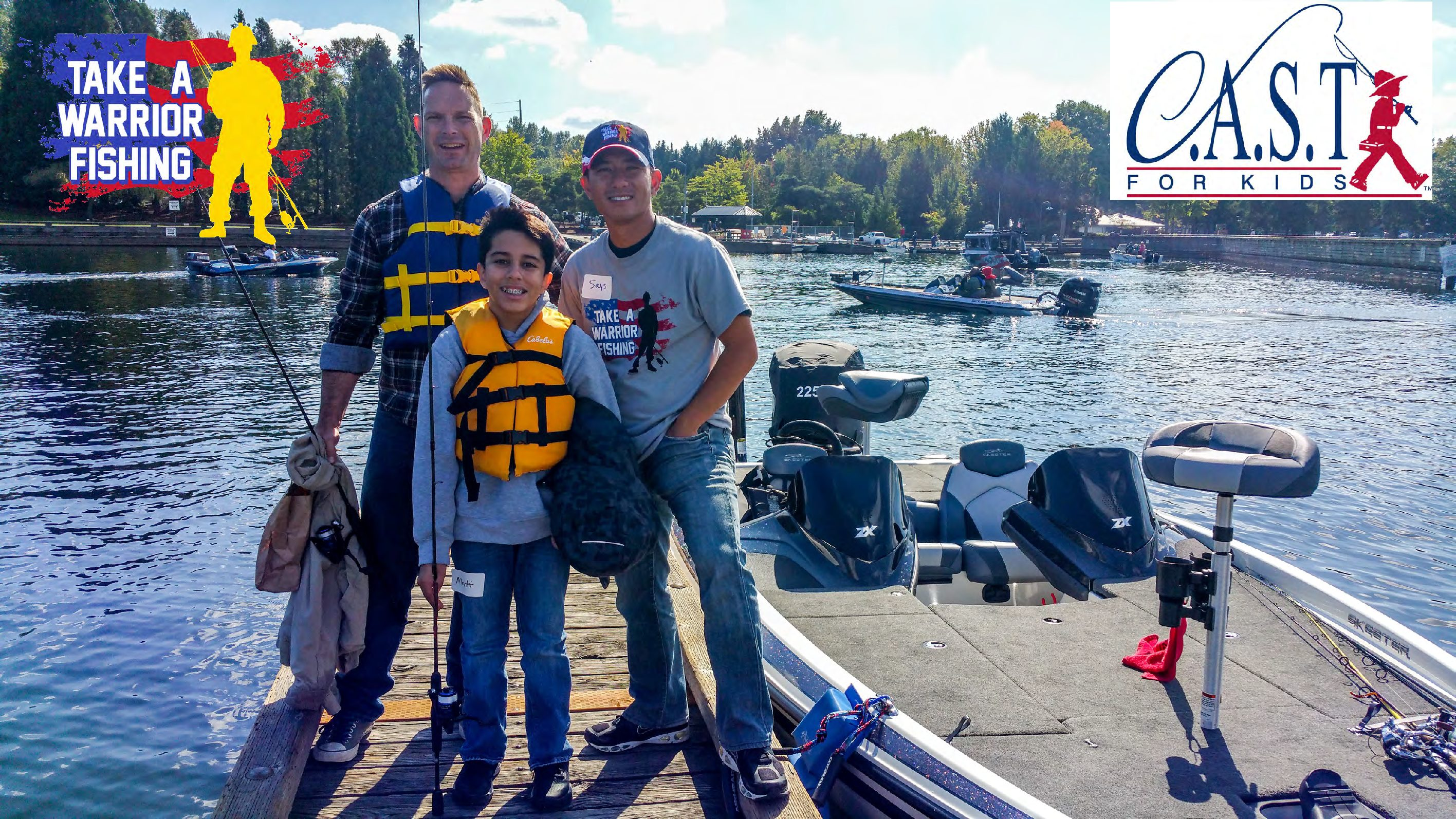 C.A.S.T. for Kids & Take a Warrior Fishing- Joint Base Lewis-McChord