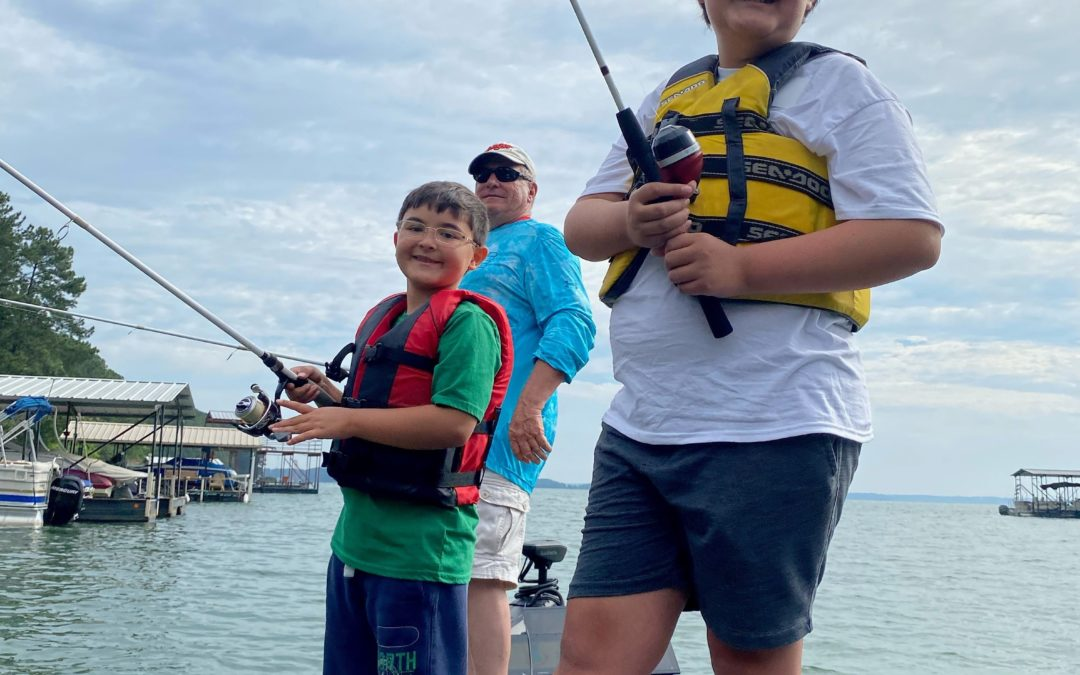 C.A.S.T. for Kids – Lake Hartwell