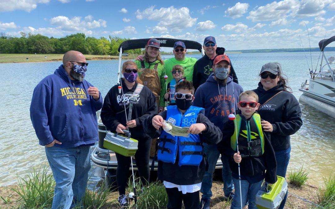 C.A.S.T. for Kids – Joe Pool Lake Presented By Texas Farm Bureau Insurance